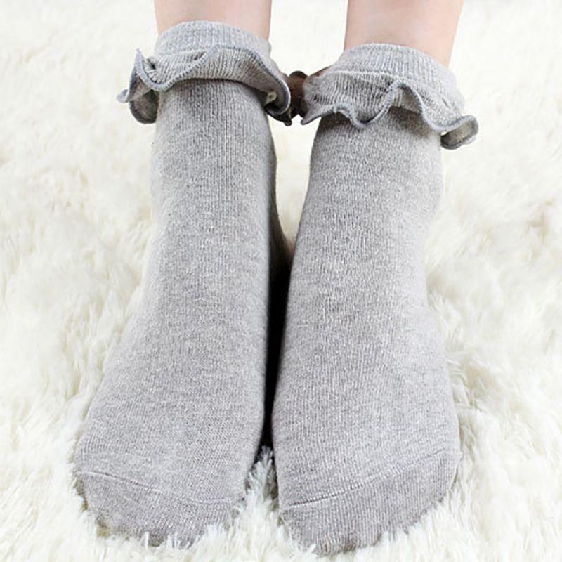 Japanese Kawaii White Lolita Socks With s