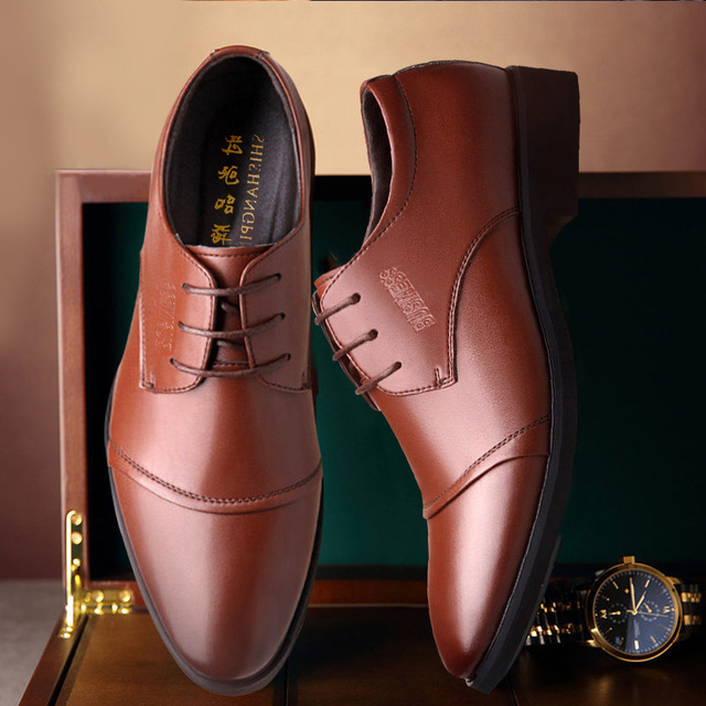 2018 new men's shoes selling high-quality shoes 4