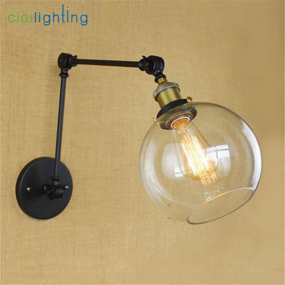 Aliexpress.com : Buy Art Decor nordic lamp swing arms wall lights ...