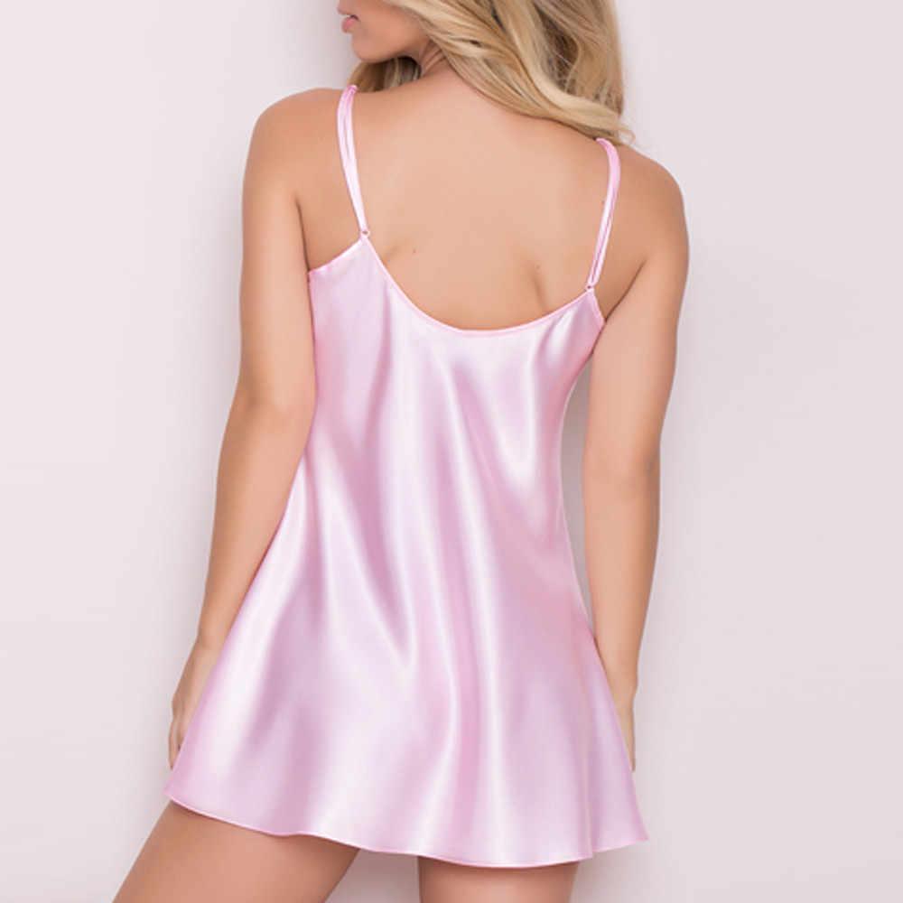 Exotische Bekleidung Frauen Nighte Kleid Plus Größe Dessous Babydoll Nachtwäsche Sleepskirt Unterwäsche Sexy Unterwäsche Frauen Erotische Jun4