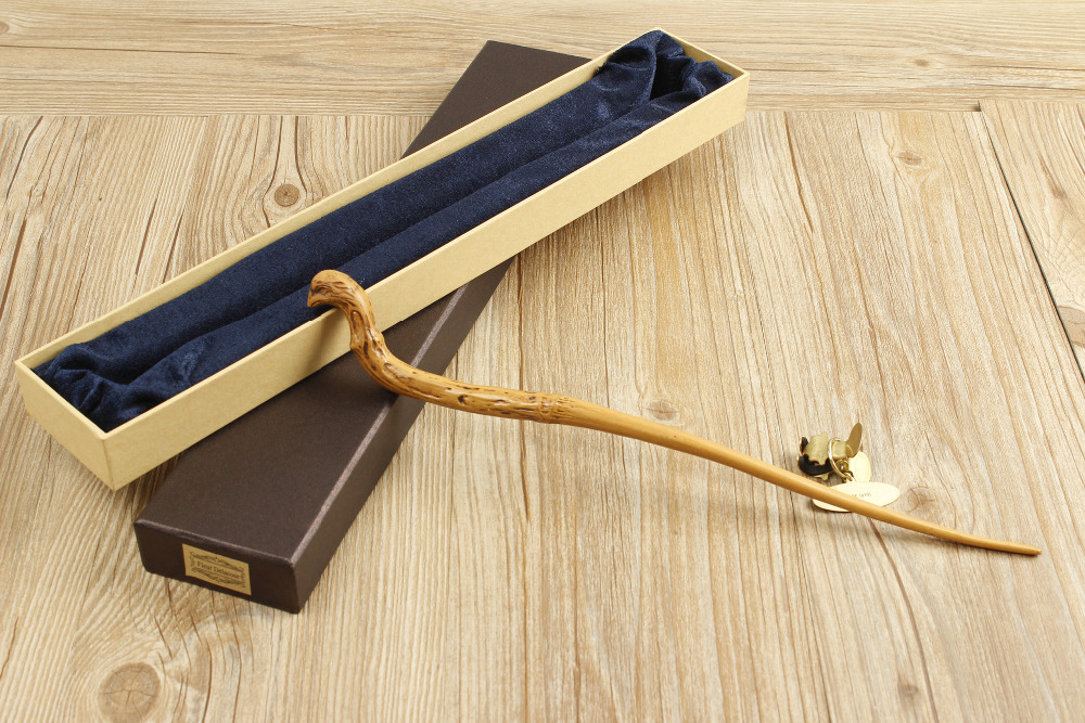 2016 New Quality Deluxe COS Viktor Krum Magic Wand of Harry Potter Magical Wands with Gift Box Packing