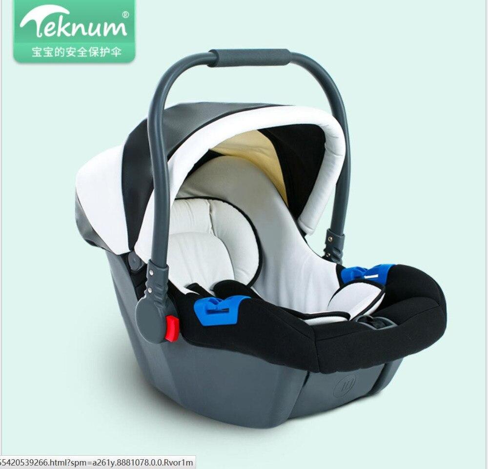 Teknum baby basket newborn car safety seat car baby cradle china mainland