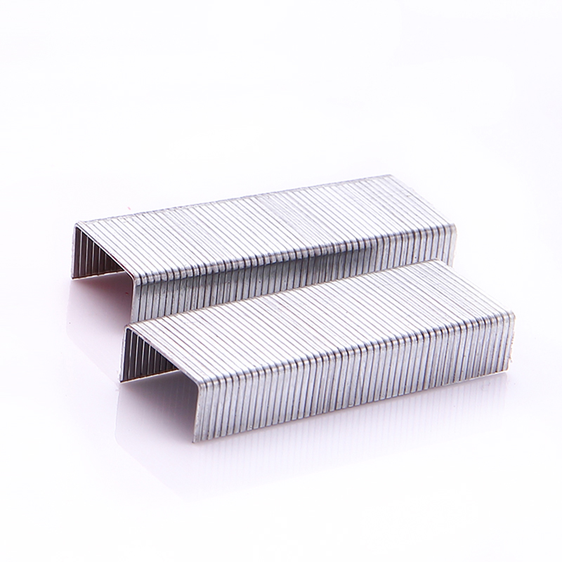 1000Pcs Metal Staples Normal Staples Standard 24/6 Size Silver Color Office Binding Capacity 25Sheet Paper Office Supplies 0012