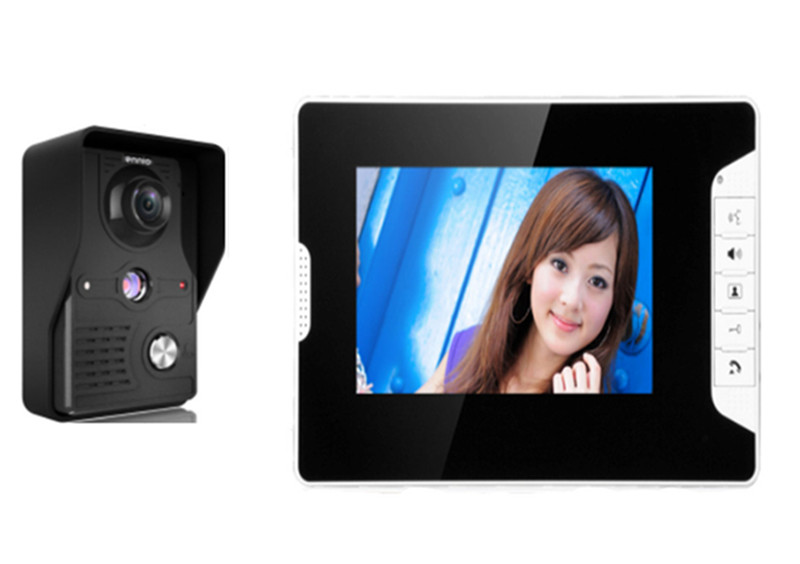 7 Inch Water-Proof  Wired Intercom  Video Door Phone 813-MK 3v3 7 inch monitor water proof ip66 wired intercom video door phone