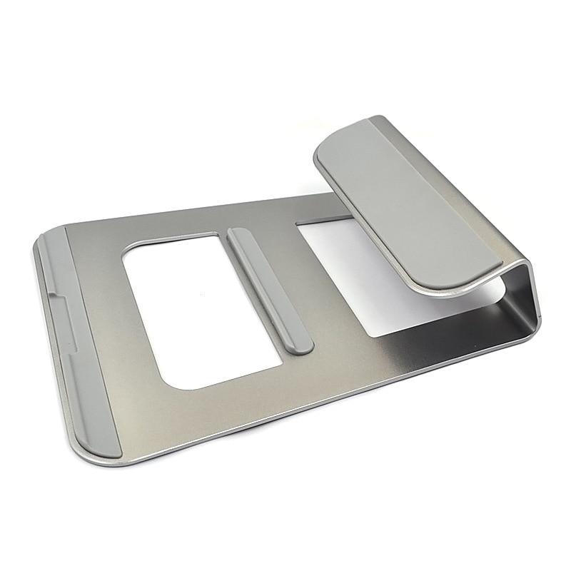 DIHAN Newest Desktop Laptop Holder Tablet Stand For Macbook 11-15inch For iPad Pro Aluminum Alloy Dock Stand Mobile Phone Holder все цены