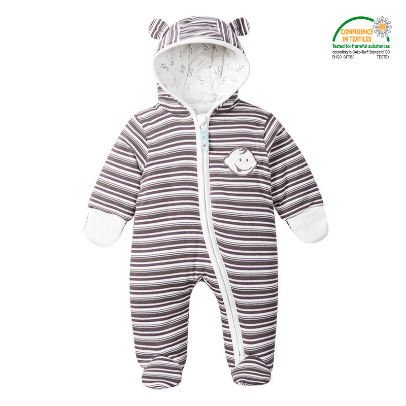 8ad6003ec Baby Footies 8 Styles Jumpsuit + Hat + Shoes Hooded Baby Snowsuits ...