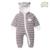 Footies bebê 8 Estilos Macacão + Chapéu + Sapatos de Bebê Com Capuz Outfits Meninos Meninas Snowsuits Öko-tex 100 Certificado roupas