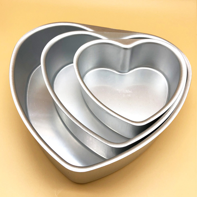 Heart Shape Aluminum Cake Tin
