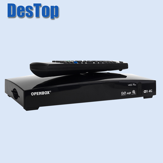 5PCS openbox V8S PLUs Digital Satellite Receiver with AV Support USB Wifi WEB TV Biss Key 2xUSB Youporn CCCAMD as S-V8 sv8
