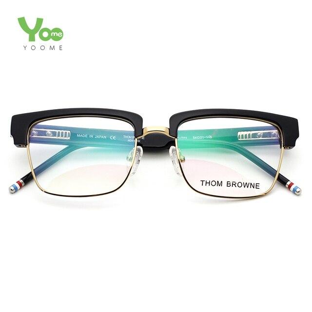 7777f92a0e 2015 Thom Browne eyewear TB 806 glasses frames for men   women 50mm  eyeglasses monturas de gafas lunette de vue lentes armazones