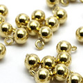 12pc.. Raw Brass Ball round .sz (6mm) yBs1077
