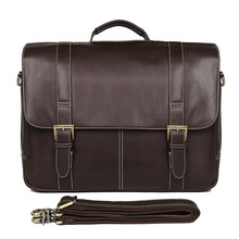 J.M.D Simple Famous Brand Business Men Briefcase Bag Luxury Leather Laptop Bag Man Shoulder Bag 7396Q цена в Москве и Питере