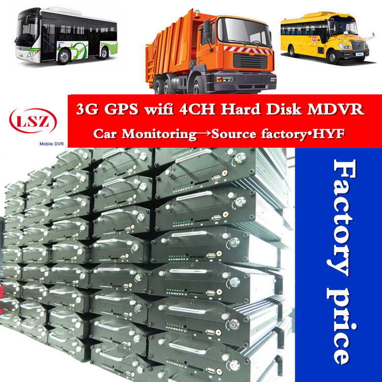 3g gps wifi hard disk mdvr 4ch Mobile DVR Vehicle DVR School Bus DVR Taxi DVR Automotive CCTV rj45 MDVR with tracking factory купить в Москве 2019