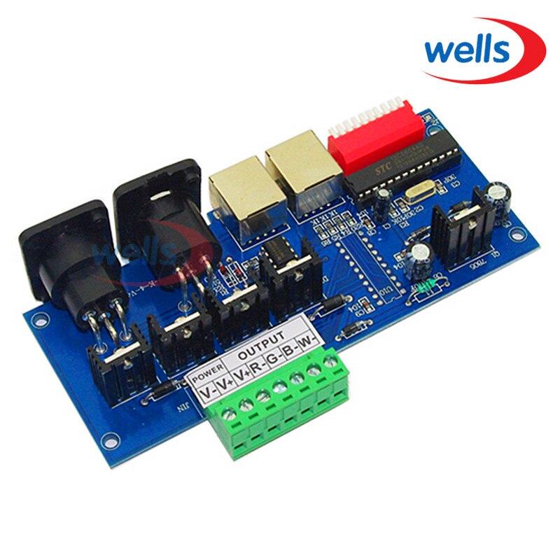 4CH 4 CH x 4A RJ45 ինտերֆեյսով RGBW LED վերահսկիչ - Լուսավորության պարագաներ - Լուսանկար 2