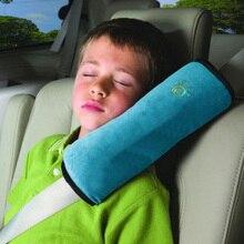 Накладка для ремня безопасности автомобиля авто подушка безопасности Детские удерживающие ремни безопасности для автомобиля мягкая Наплечная накладка автомобильный усилитель для детей