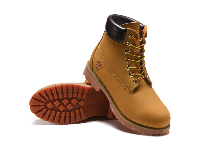 TIMBERLAND Women Classic 10061 Wheat Autumn Yellow Ankle Boots,Woman Leather Timber Casual Shoes Oversea Simple Version 36-40 2