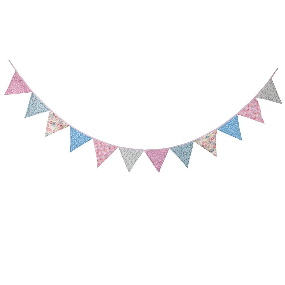 Aliexpress com : Buy New 12 Flags 3 2M Cotton Pink Blue