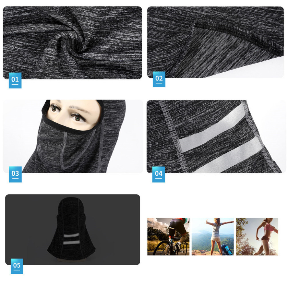 2019 Men and women ice silk sunscreen hood breathable hood outdoor sports bike running mask summer face shield quick dry 40M20 (16)