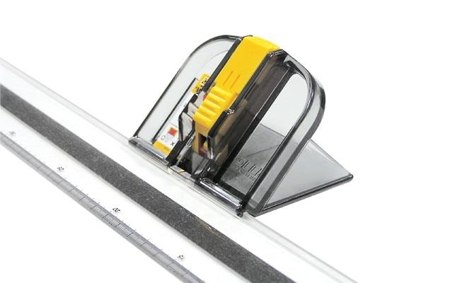 일본 새로운 OLFA MC 45/DX 45도 경사 매트 커터 온다 전용 눈금자-에서재봉 기계 & 액세사리부터 홈 & 가든 의  그룹 3