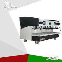 KT16.3 Atacado 3 grupo profissional máquina de café comercial máquina de café expresso máquina de café equipamentos de processamento de café para venda