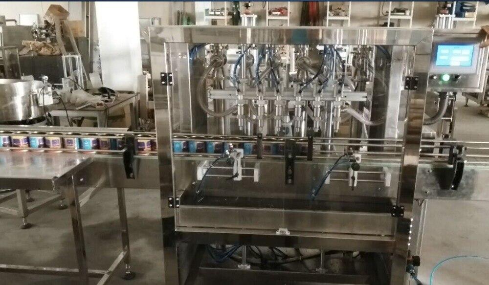 1 5L автоматическая разливочная машина, 6 сопла Lemon/чай машина _ 316 поршень наполнитель, CE настраиваемые видео