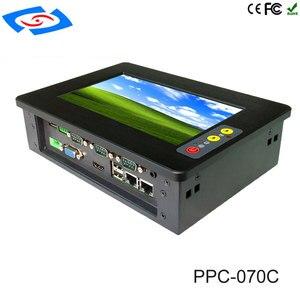 Image 3 - 7 אינץ בהירות גבוהה מסך מגע פנל מחשב/תעשייתי מחשב/מחשב מוקשח עם רזולוציה 1024*600 יישום בית חולים