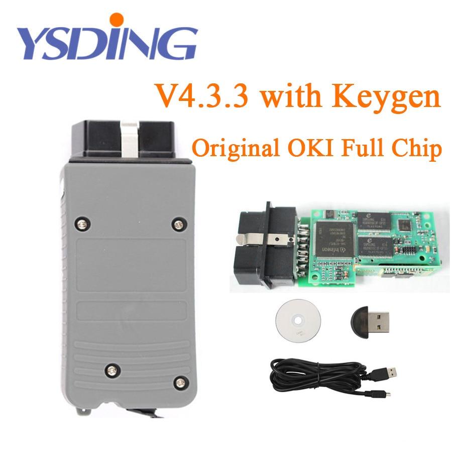 Original OKI VAS 5054A ODIS V4.3.3 Keygen Bluetooth AMB2300 vas 5054a VAS5054A Full Chip VAS5054 UDS For VAG Diagnostic Tool vas 5054a diagnostic tool odis v3 0 3 bluetooth support uds protocol vas5054a vas5054 with oki full chip free shipping