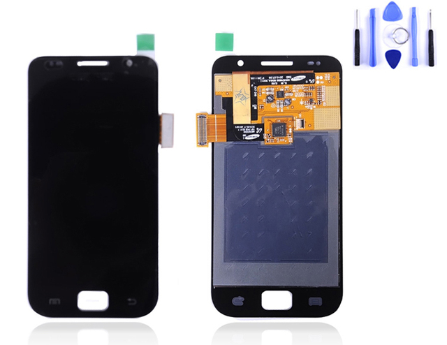 100% Tested I9000 Lcd For Samsung Galaxy S1 I9000 Lcd Screen With Touch Screen Free Shipping China Post 15-26 Days+tool