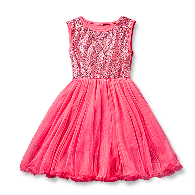 New Arrival Dresses Girl Princess Summer Little Kid's Birthday Party Dress Girl Clothes Children Lace Sleeveless Red Cute Dress ems dhl free shipping toddler little girl s 2017 princess ruffles layers sleeveless lace dress summer style suspender