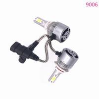 2PCS Car Headlight Bulbs C6 Auto Led Bulb Kit Light 72w 7600lm Headlight Led Lamp Conversion