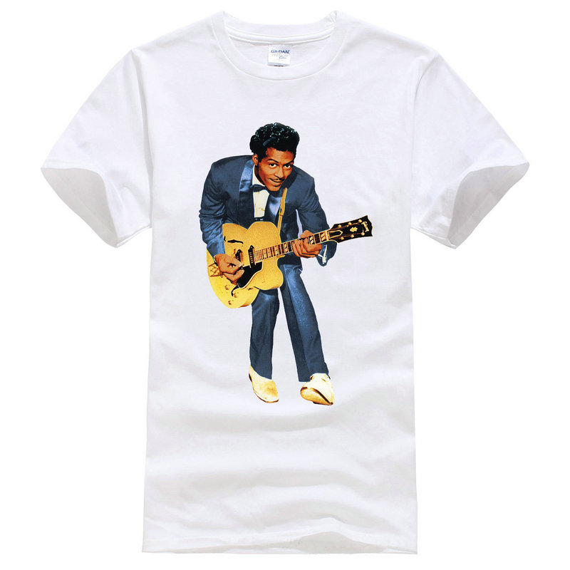 Offensive T Shirts Short Sleeve Top Crew Neck Mens Making Company Chuck Berrying T Shirt in T Shirts from Men 39 s Clothing