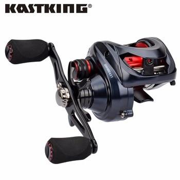 KastKing Spartacus Maximus 11 Ball Bearings 6.3:1 SaltwaterFreshwater Baitcasting Reel 1.33KG Max Drag Power Fishing Reels Lure spartacus maximus kastking combo