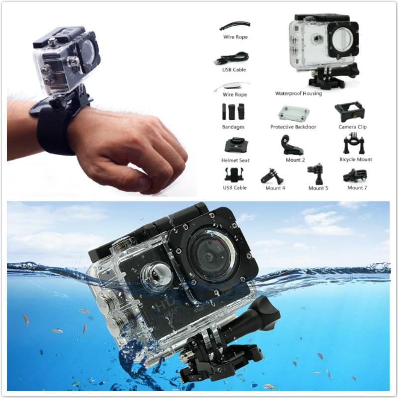 Mini 1080P WIFI Action Camera Outdoor Sport DV Video For audi a4 a5 a6 b5 b6 b7 q3 q5 q7 rs quattro s line c5 c6 tt sline a3 a7