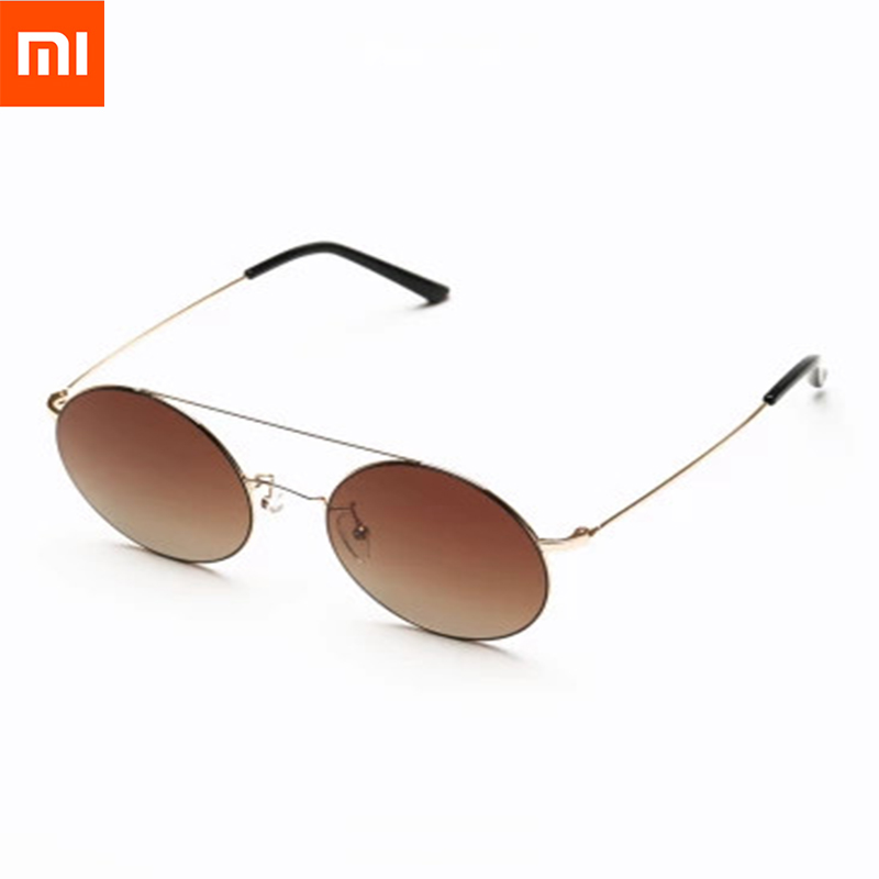 Original Xiaomi TS Brand Sunglasses Fashionable Version Sun Mirror Lenses Nylon Polarized 100% UV-Proof For Man and Women Travel feidu 2015 brand designer high quality metal sunglasses women men mirror coating лен sun glasses unisex gafas de sol