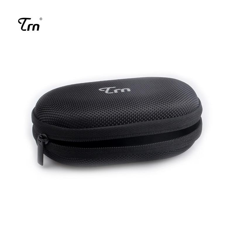 TRN Case Bag Earphone Accessories Earphone Case Bag Portable Storage Case Bag Box High Quality For TRN V80 V90  X6 earphones