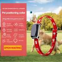 Traqueurs GPS pour animaux de compagnie Smartlife, collier de positionnement intelligent mis à niveau collier de suivi GPS pour chiens, moniteur en temps réel d'activité pour animaux de compagnie