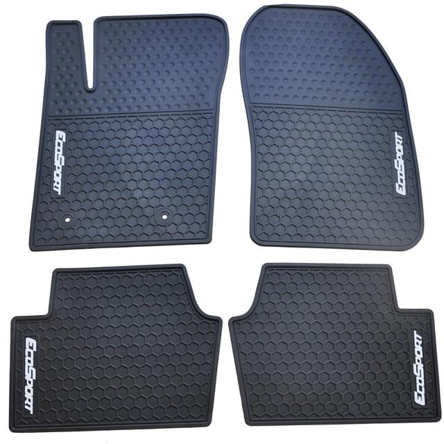 green car floor mats. Waterproof Non Slip Rubber Car Floor Mats For Ecosport No Odor Green Latex  Carpets Five Seats L
