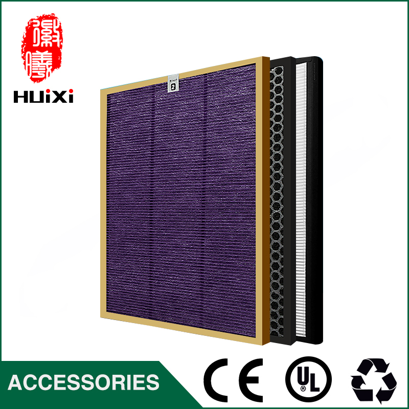 AC4151+AC4153+AC4154 Filter Kit Multi-function filter/Activated Carbon Filter/HEPA for AC4375/72/73 Air Purifier