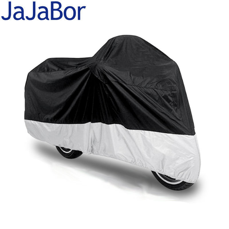 JaJaBor Size L XL Motorcycle Cover DustProof Waterproof Outdoor UV Protector Motor Motorbike Rain Covers For Scooter 20inch 24 inch computer suitcase rolling luggage hardside spinner trolley bag pp material travel box boarding wheels case xl020