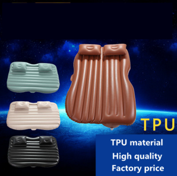 TPU Car Air Bed Inflatable Car Air Mattress Travel Bed Inflatable Camping bed folding bed durable thicken pvc car travel inflatable bed automotive air mattress camping mat with air pump