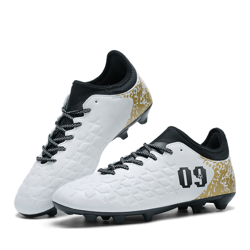 New Men Football Boots FG Professional Outdoor Superfly Soccer Shoes Athletic Racing Long Spike Cleats Training Sneakers umbro new men hard groud professional training sports football shoes soccer boots men spike shoes ucb90137