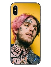 LIL PEEP Crybaby Hellboy GBC Rose Hard PC Phone Cases Cover For iPhone 7 7Plus 8 8Plus 6 6SPlus 5 5S SE Lil Bo Peep For iPhone X