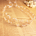 Bohemian Design Bling Bling Pearls Headdresses Vintage Wedding Accessories