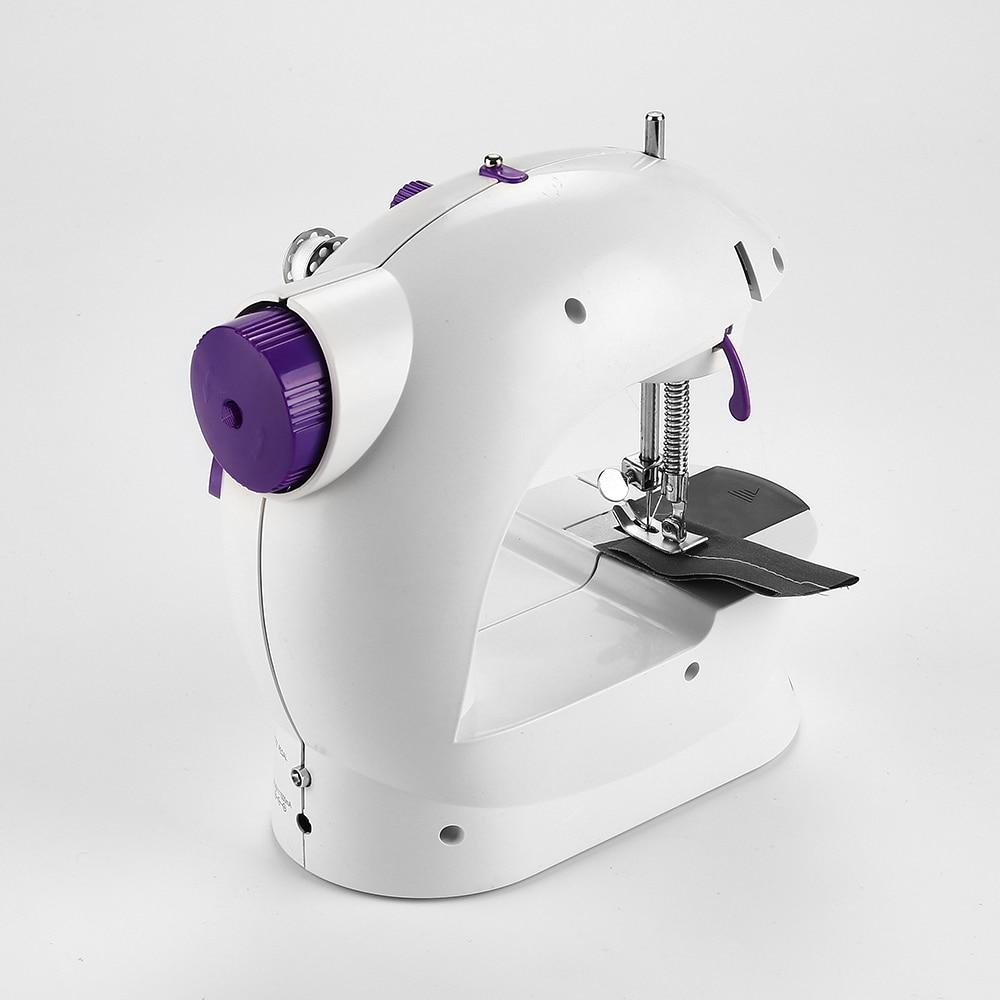 Electric Mini Sewing Machine Home Hand Machine To Sew Speed Adjustment Light Handheld Sewing Machine