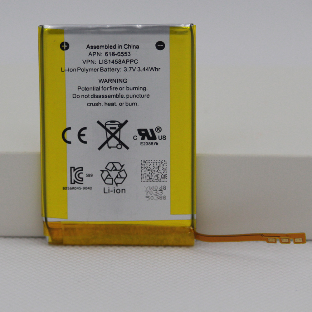 930mAh 616-0553 / LIS1458APPC Internal Li-Polymer Replacement Battery For iPod Touch 4th Generation 4 4g with repair tools(China)