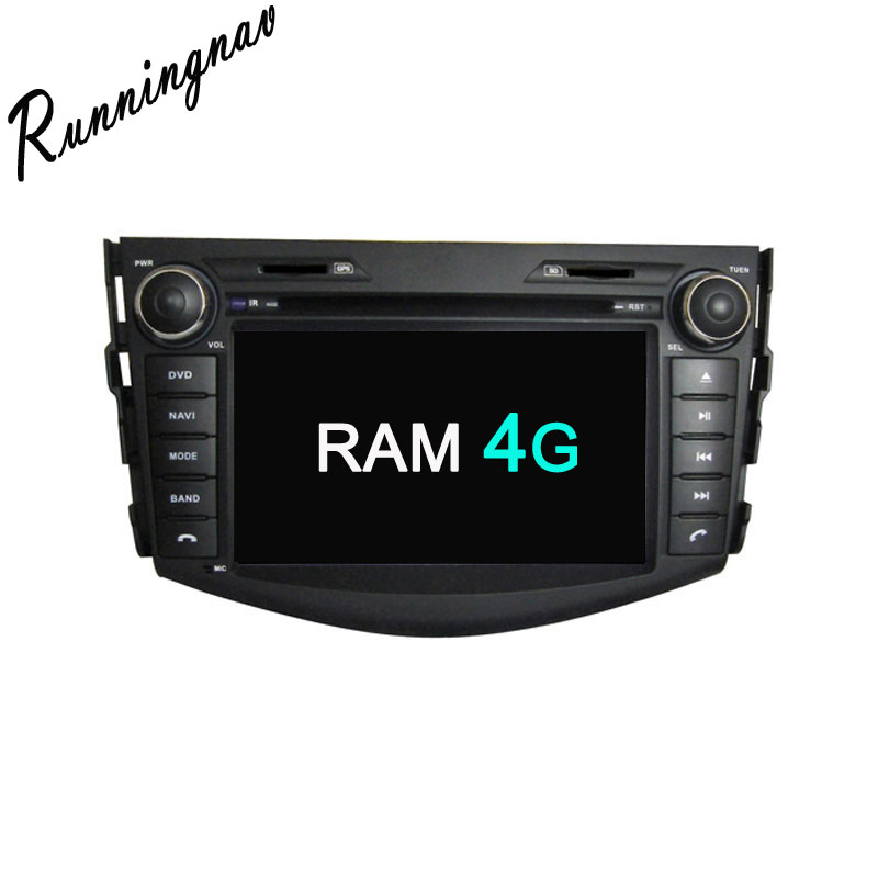 Octa Core RAM 4G ROM 32G Android Fit TOYOTA RAV4 2006 2012 Car DVD Player Navigation
