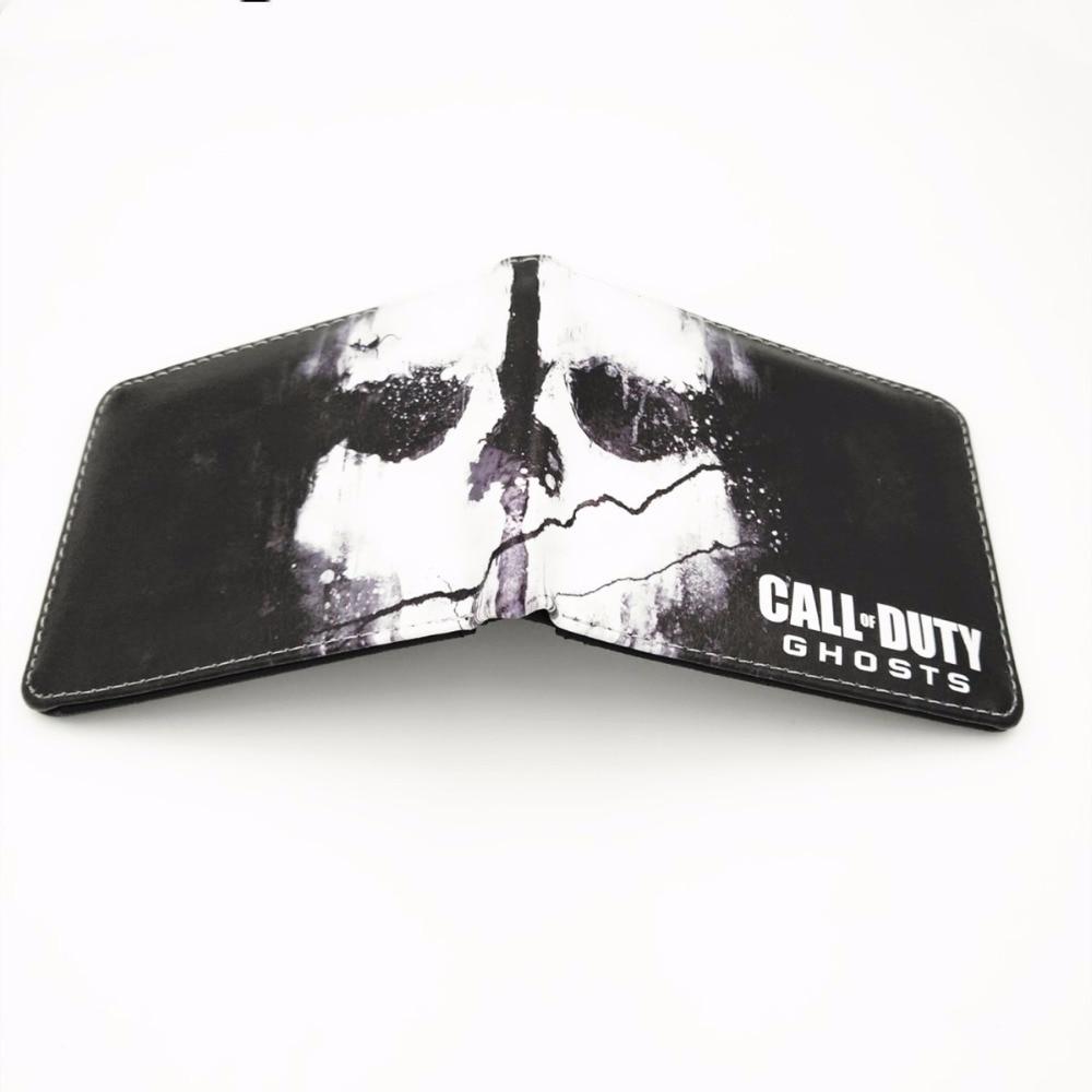 Call Of Duty Ghosts Бумажник Кредитная держатель для карт кошелек W427