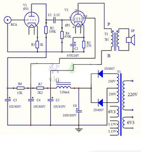 Image 5 - Aiyima 6n1 + 6p1 밸브 스테레오 앰프 보드 진공관 앰프 필라멘트 ac 전원 공급 장치 + 3 pcs 튜브