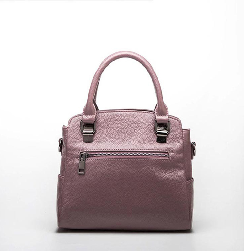 100% Genuine Leather Women Handbag Fashion Tote Bag Ladies Shoulder Purse Satchel High Quality Messenger Crossbody Bags