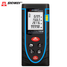 SNDWAY 40M 60M 80M 100M Laser Rangefinder Digital Distance Meter Range Finder LCD Self-calibration Build Measure Device
